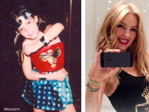 Thalía ya era una 'Superwoman' desde que era chiquita. Hoy, como...