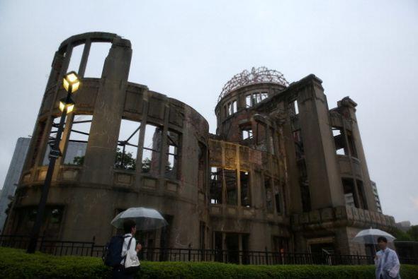 Coincidiendo con la conmemoración del 70 aniversario del bombardeo atómico.