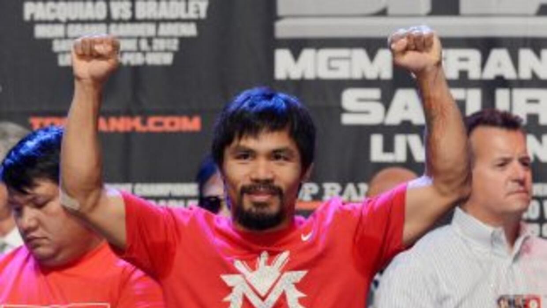 Manny Pacquiao no pelearía más en Estados Unidos.