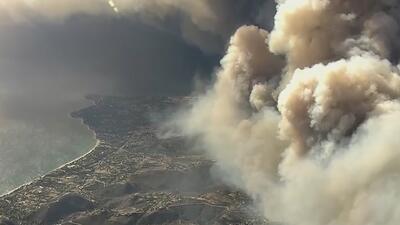 Alerta de salud en el Área de la Bahía por los efectos de la mala calidad del aire provocada por incendios