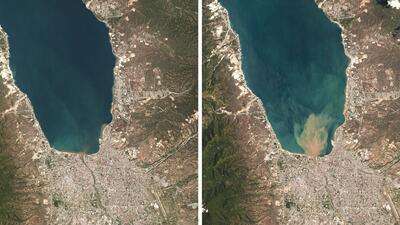 Fotografías Interactivas: Antes y después de la destrucción que dejó el terremoto y tsunami en Indonesia