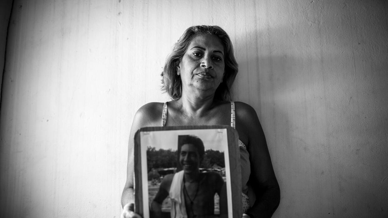 """Cantalicia Ramos. Su hijo Kevin fue asesinado por un """"ajuste de cue..."""