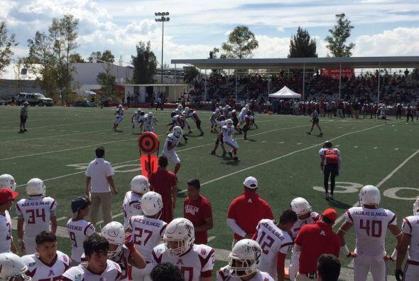 Además asistieron a un partido entre los equipos mexicanos de Patriotas...