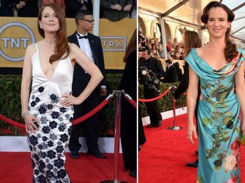 Hemos visto feos vestidos, pero algunos sí que han abusado del t&...