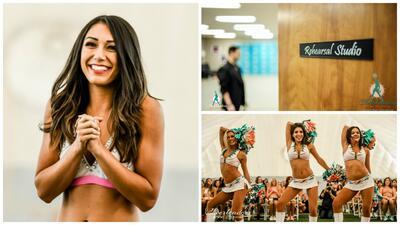 Conoce a las hermosas y sensuales candidatas en el campo de entrenamiento de las Dolphins Cheerleaders