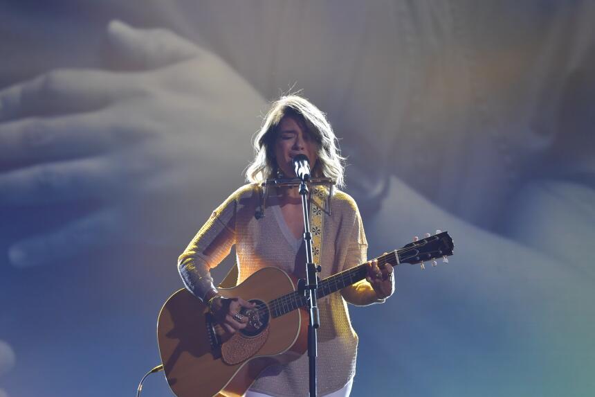 La cantautora puertorriqueña Kany García interpretó con pasión 'Solo...