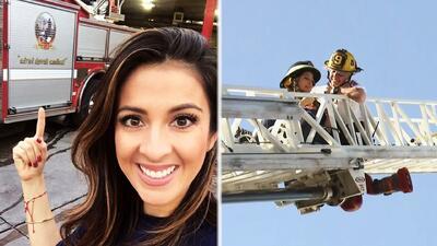 La vida en vivo: Maity ya se había puesto el traje de bombero cuando sonó la alarma de incendios
