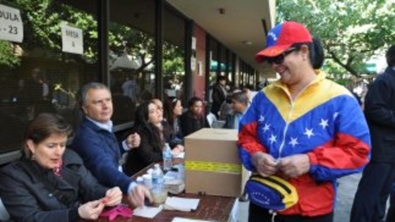 Alrededor de 18.9 millones de venezolanos están convocados a las urnas e...