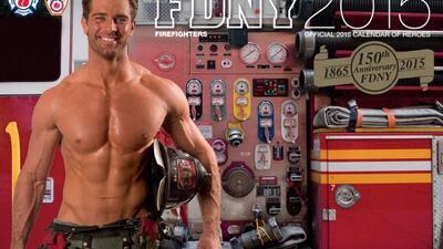 Joseph Conforti, el ganador de la portada del calendario 2015 de FDNY.