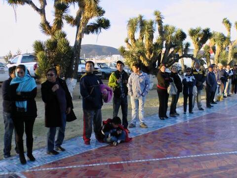 Desde muy temprano los aficionados de Pachuca comenzaron a juntarse para...