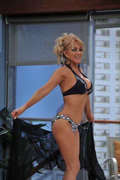 """Después de haber posado en la revista """"Playboy"""", Olivia Collins no quiso..."""