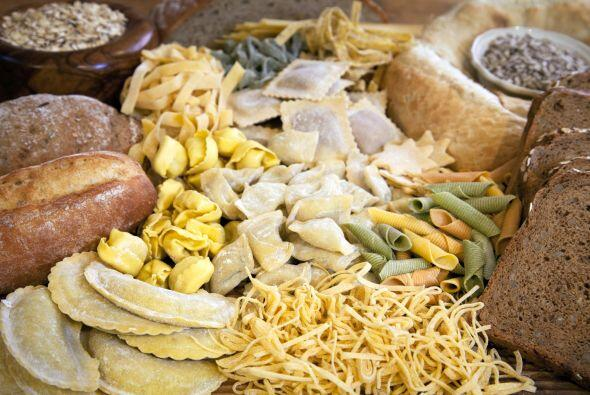 Harinas. Los panes y pastas son famosos en esta región.