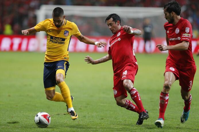 Toluca celebró su centenario con empate ante el Atlético de Madrid 63636...