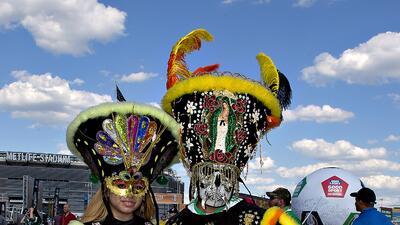 La afición mexicana pintó de verde el MetLife Stadium