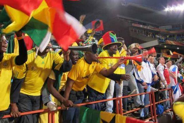 El Mundial 2010 es la fiesta más grande que ha vivido Sudáfrica en toda...
