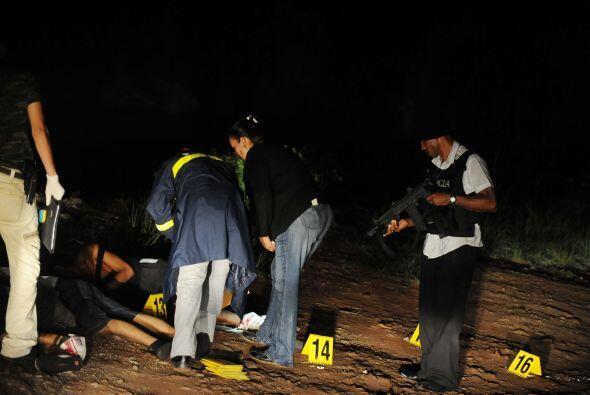 Datos divulgados anteriormente por las autoridades policiales salvadoreñ...