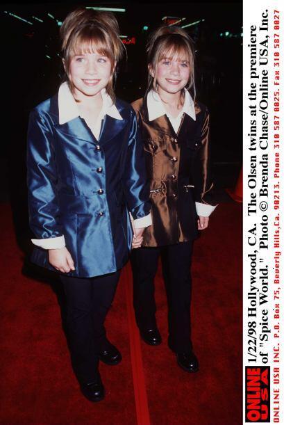Mary Kate y Ashley Olsen nacieron el 13 de junio de 1983 en Los Ángeles,...