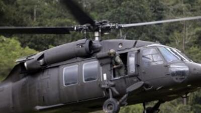 Más de un centenar de elementos mexicanos buscaban la aeronave.