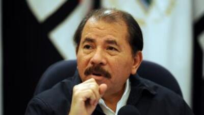 El actual presidente de Nicaragua, Daniel Ortega, tiene el 48% de la int...