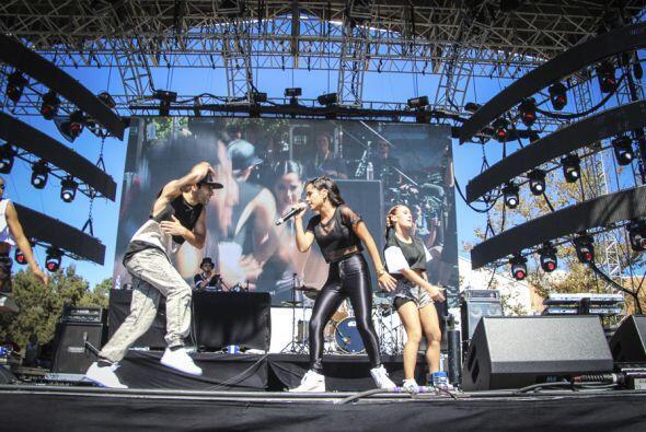 Además, con su música vibraba el escenario del Uforia Fest.