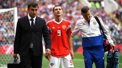 Dzagoev, lesionado de Rusia, podría estar para el juego contra Uruguay
