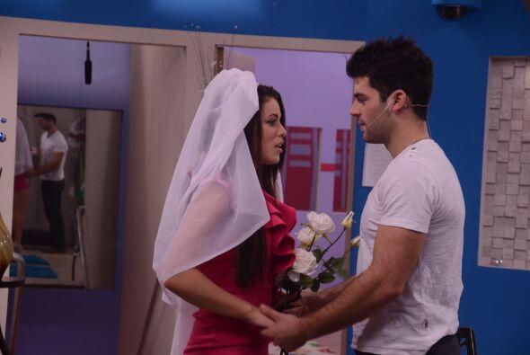 Shanik también coordinó la boda y Laura les hizo el curso pre matrimonial.