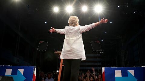 Hillary Clinton, Brooklyn, Nueva York, el 7 de junio, 2016.