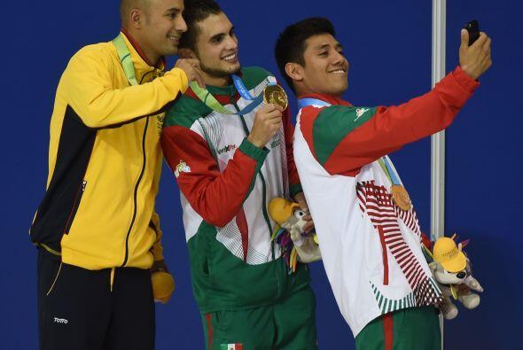 Ortega, de 27 años, lo siguió con un puntaje de 455.15, mientras Ruvalca...