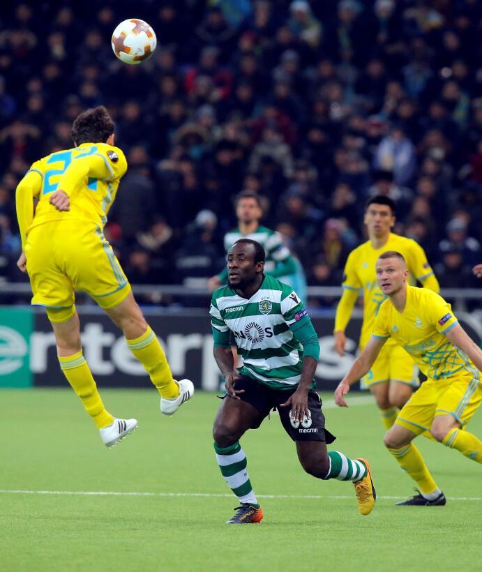 Astana 1-3 Sporting C.P.: el equipo portugués le remontó al kazajo despu...