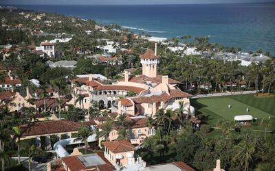 Este es el club de Donald Trump, Mar-a-Lago, ubicado en Palm Beach, Flor...