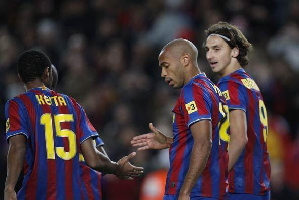 Thierry Henry se acordó de lo que es marcar goles. El francés no anotaba...
