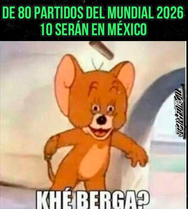 La candidatura al Mundial 2026 no se salvó de los divertidos memes 14918...