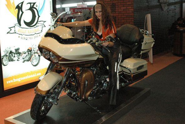 Una poderosa Harley con una bella chica... ¿hay algo más atractivo?