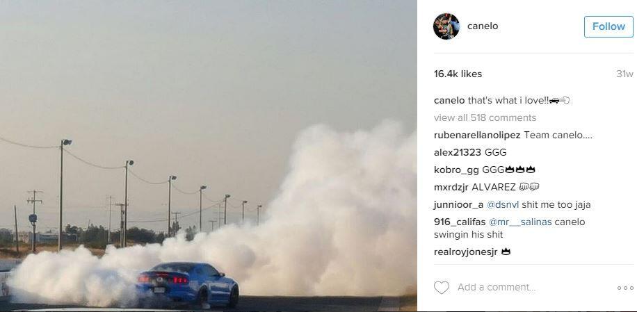 Los autos de Saúl Canelo Álvarez