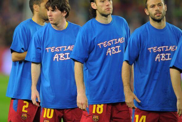 Esto es cosa seria, gran detalle del plantel del Barcelona de usar estas...