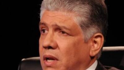 Eduardo Estrella, candidato a la Presidencia de República Dominicana. (I...