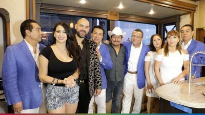 Los Ángeles Azules hablan de su colaboración con Pepe Aguilar