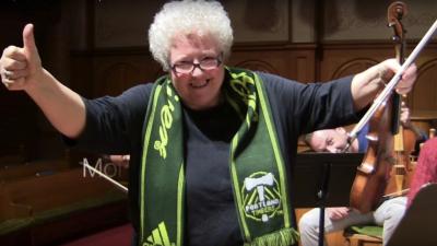 Directora de la Orquesta Barroca de Portland