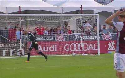 Autogol de Jared Watts del Colorado Rapids, regala ventaja al DC United