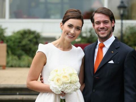 El príncipe Félix y Claire Ladermacher contrajeron matrimo...