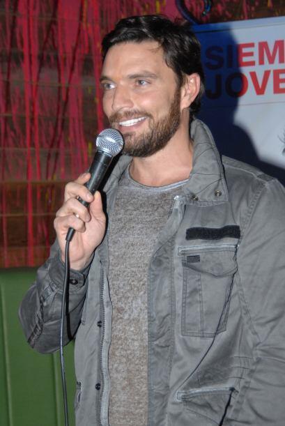 El actor, presentador y empresario apoya el proyecto Carson Life, una co...