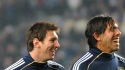 Messi y T