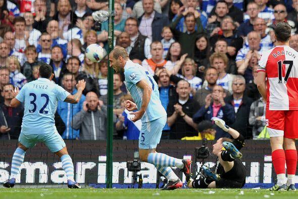 Ese gol del City les devolvía el liderato y el título. Aún faltaban 45 m...