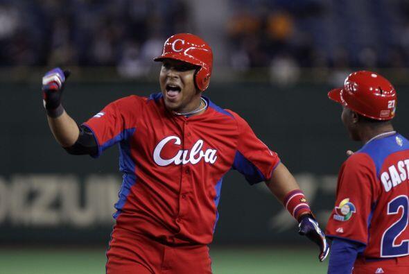 Cuba se puso por fin por delante (6x4) en el octavo gracias al buen dese...