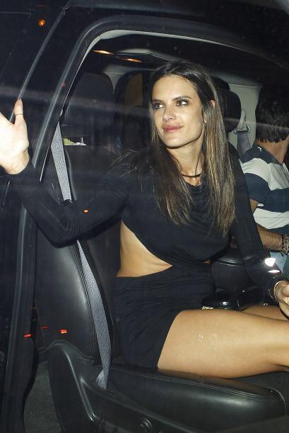 ¡Chau Alessandra… Nos vemos en la próxima fiesta y cuidado con la subida...