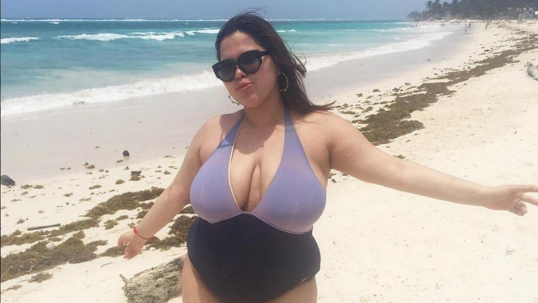 María Jiménez, la modelo latina de talla grande que le ganó la batalla a...
