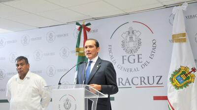 El fiscal de Veracruz, Luis Ángel Bravo Contreras