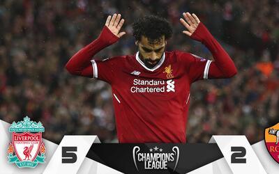 Liverpool vs Roma Abril 24