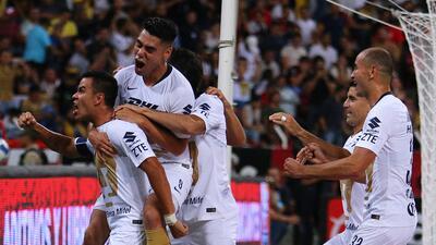 En fotos: Pumas consolida su primer lugar con goleada a domicilio sobre Atlas