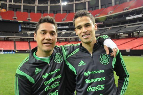 Mientras esto sucede, Miguel Herrera, Osvaldo Alanís, Luis Venegas, Dieg...